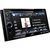 JVC Bluetooth Double-DIN In-Dash ARSENAL DVD Multimedia Receiver (KWADV65BT)
