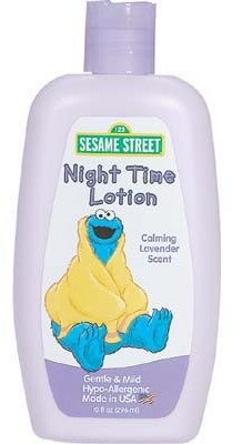 Sesame Street Night Time Lotion - 10 oz. (Pack Of 6) - 1