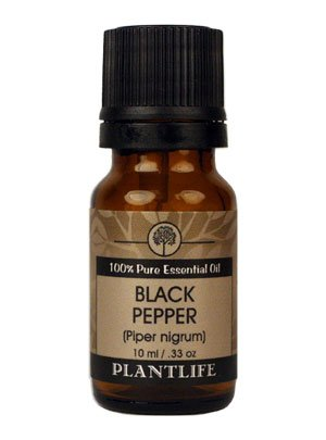 Black Pepper Essential Oil (100% Pure and Natural, Therapeutic Grade) 10 ml