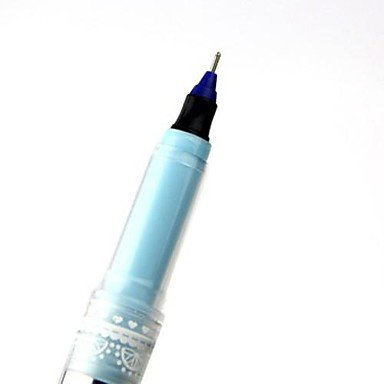 LWW Tinta azul borrable Bolígrafo Gel Ink Pen (azul ,3-Pack)