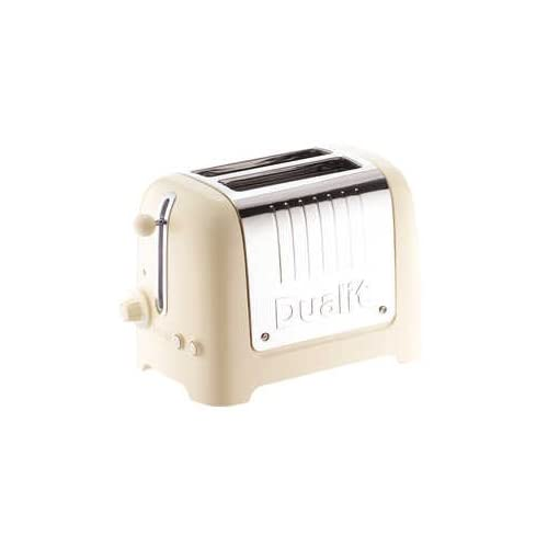 Dualit 2 Slot High Gloss Lite Toaster Cream