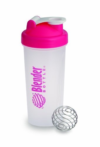 Blender Bottle - Classic Pink - 28 Oz. By Sundesa