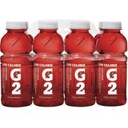 G2: Low Calorie Fruit Punch Sports Drink, 8 Pk(Case Of 2)