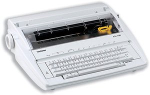Brother Typewriter AX100 12 Characters per Second W406xD366xH136 Ref AX100
