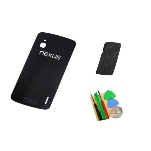 Back Cover Glass With 3M Adhesive Sticker Strip Tape For Lg Google Nexus 4 E960 front-218094