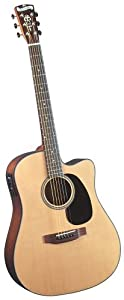 Blueridge BR-40CE Contemporary Dreadnaught Cutaway Guitar with Fishman Classic 4T Pickup
