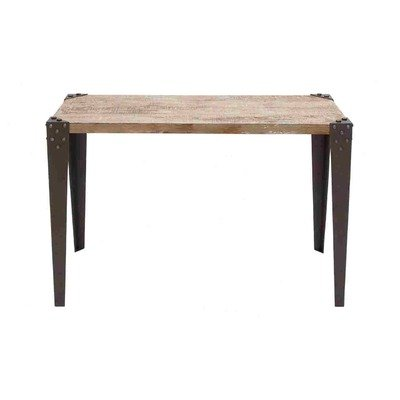 Cheap Metal Wood Console Table (B007YS4Y5S)