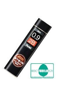 Pentel Ain mines 0,9 mm 2B Nouvel emballage