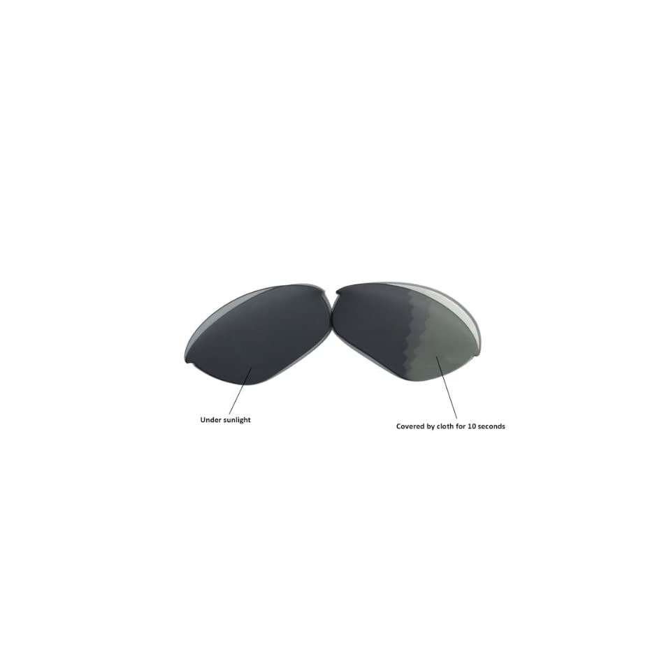 75796324083 New Walleva Polarized Transition Photochromic Replacement Lenses For Oakley  Half Jacket Sunglasses