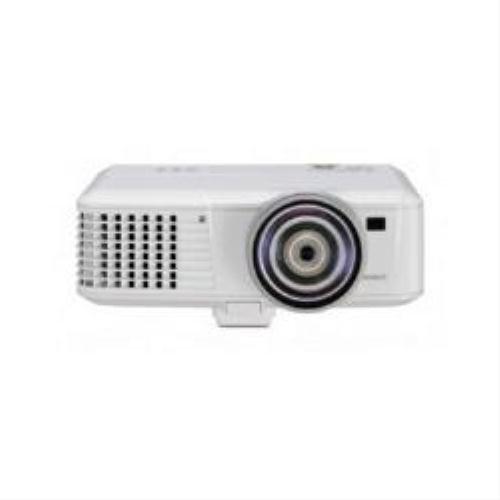 Mitsubishi EX320U-ST 3D Ready DLP Projector HDTV 1024x768 XGA 2000:1 2700 lumens 4:3 HDMI VGA Ethernet