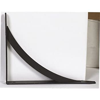Set A Shopping Price Drop Alert For John Sterling Elegante Shelf Bracket (RP-0053-7BK)pack of 10