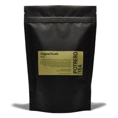 Organic Pu-Erh | 8 Ounces | Free Shipping | Potrero Tea Company