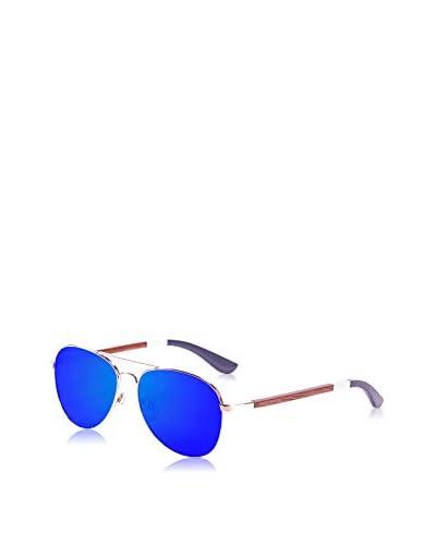 Ocean Ski Gafas de Sol Polarized San Remo (58 mm) Dorado