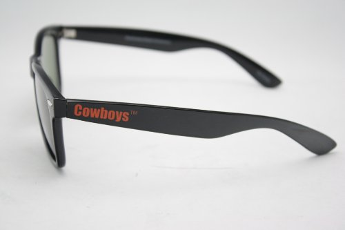 NCAA Oklahoma State Cowboys Apollo Retro UV 400 Sunglasses with G15 Glass Lenses