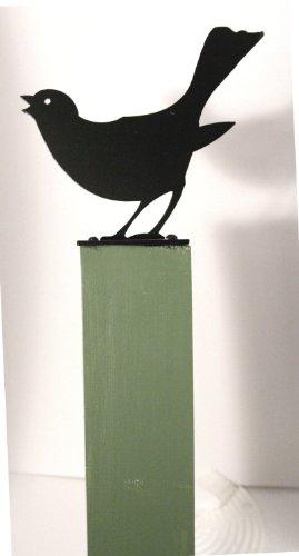 NWTC Fence post finials: Blackbird