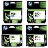 CE - Hewlett Packard - HP 950-951 XL Four Pack- Black &amp; Color Inkjet Ink Set