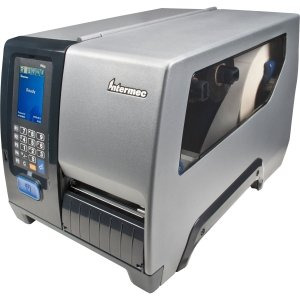 Intermec - Fixed Printer (Pm43) Intermec Pm43 Direct Thermal/Thermal Transfer Printer - Monochrome - Desktop - Label Print. Pm43 Tt 203Dpi Wl Full Touch Row Fixed Hanger Us Pc. 12 In/S Mono - 203 Dpi - Fast Ethernet - Wi-Fi - Usb - Touchscreen