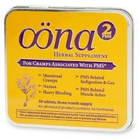 Oona PMS 2 For Cramps, Tablets, Three Month Supply 50 ea