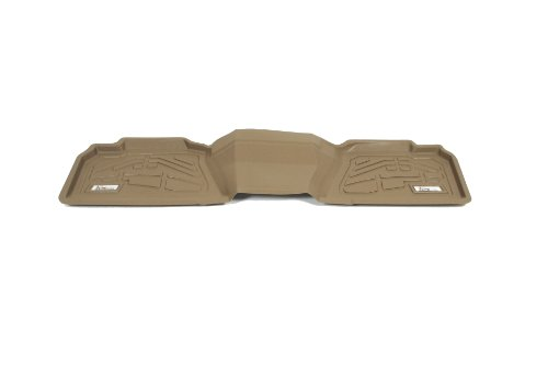 Wade 72-134012 Tan Sure-Fit 2nd Row Molded Floor Mat - Set of 1