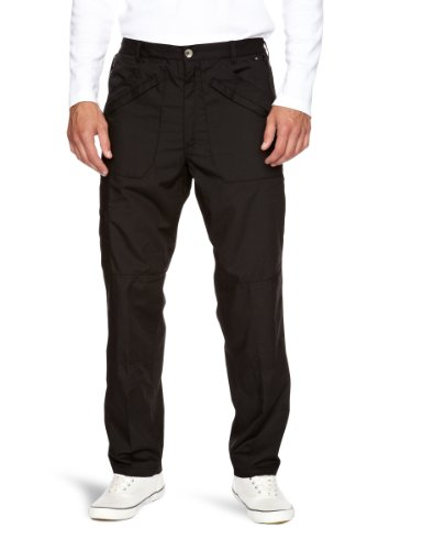 Regatta Lined Action Men's Leisurewear Trouser - Black, Size 30 Inch Regular