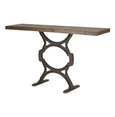 Cheap Industrial Chic Reclaimed Wood Factory Console Table (B007Q3ATTG)