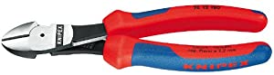 KNIPEX 74 12 180 Comfort Grip High Leverage Diagonal Cutter
