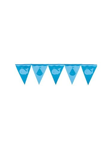 Sailboat Felt Flag Banner - 1