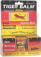 Tiger Balm 18 Gram Ultra Strength Athritis and Muscle Pain Relieving Ointment by Tiger
