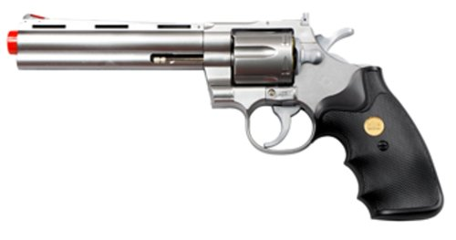 TSD Sports 6-Inch Barrel Spring Powered Airsoft Revolver