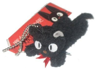 "Kiki's Delivery Service 2"" Kiki's black cat with chain - 1"