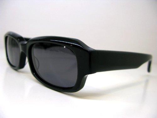 EFFECTOR(エフェクター) サングラス 70's style 「octaver」 Col.BK/BK(フレーム:黒/レンズ:黒)