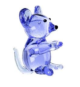 Buy Low Price by Ganz Miniature Glass Mouse Figurines Figure (B002O0UCIY)