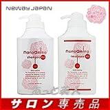 ニューウェイジャパン ナノアミノ シャンプー RM-RO ローズ 1000ml ポンプ & トリートメント RM-RO ローズ 1000g ポンプ セット