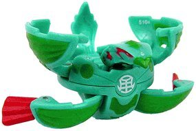 Bakugan New Vestroia Series 2 Zephyroz [Green] Hawklea