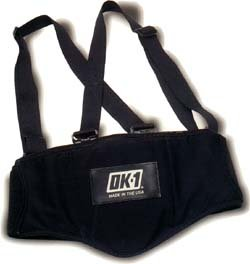 OK1 Back Support Belt with Suspenders - Size Large
