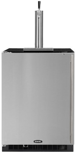 Marvel 61HK-BB-F-L 24-Inch Indoor Half Keg Draft Beer Dispenser Left Hinge