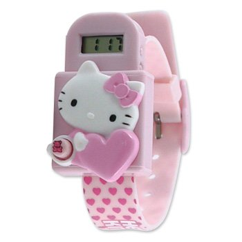 Hello Kitty Kids Digital Watch: Pink Heart