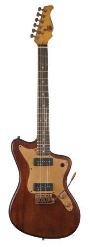 Axl Az-820-Br Badwater Mjz Electric Guitar, Antique Brown