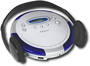 Audiophase Portable CD Player with 45-Second Skip