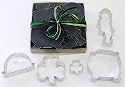 R & M St. Patrick's Day Cookie Cutter Set