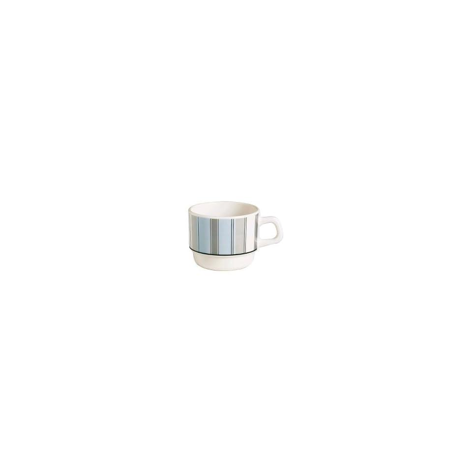 Cardinal Arcoroc Calia Opal Ivory 6 1/4 Oz  Coffee Cup E6971