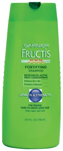 Garnier Fructis Length and Strength Shampoo, 25.40-Fluid Ounce
