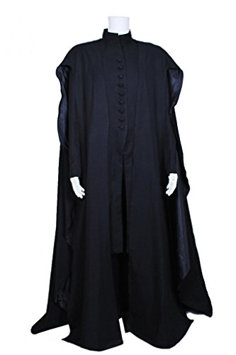 DreamDance Harry Potter Cosplay Severus Snape Costume Black