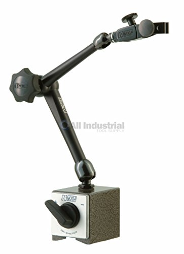 NOGA Dial Gage Holder Magnetic Base - Model: DG61003 AUTO POWER: On/off mag.base HOLDING POWER: 176 Ibs Regular Duty (Dial Indicator Base compare prices)