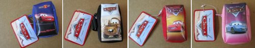"Disney Pixar ""Cars"" Coin Purse Party Favor Set of 4"
