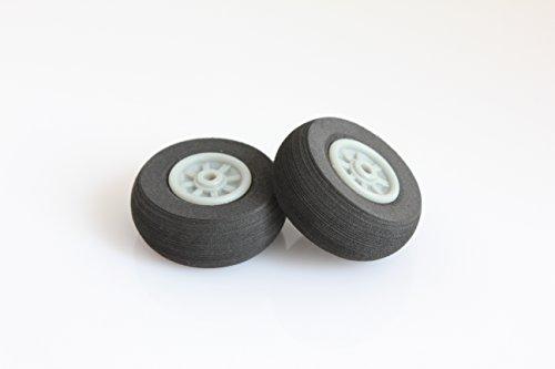 RC Plastic Core Sponge Wheels D30mm