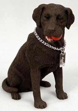 Chocolate Lab Figurine MyDog (Chocolate Statue compare prices)