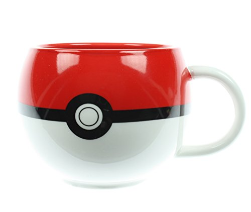 Pokemon-Poke-Ball-Figural-Taza
