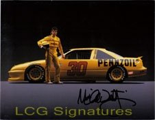 Signed Waltrip, Michael 8x10 (Promo Card) autographed by Powers Collectibles