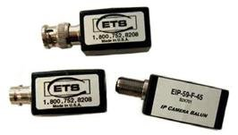 Eip-75-Fbnc-45 Ets Ip Camera Balun, Female Bnc To Rj45 Jack